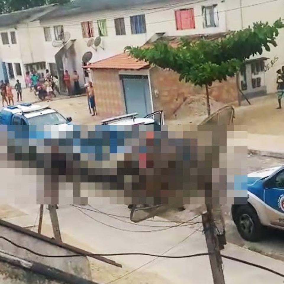 Eunápolis – Tiroteio entre bandidos e polícia resulta em 4 mortes